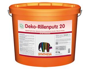 Deko-Rillenputz 20