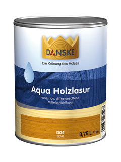 Produktbild DANSKE Aqua Holzlasur