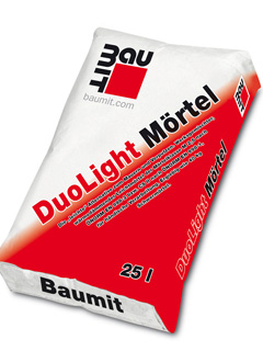 Baumit DuoLight Mörtel