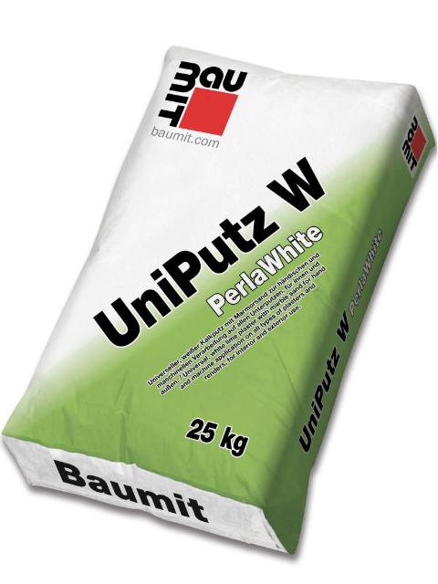 Baumit UniPutz W   PerlaWhite
