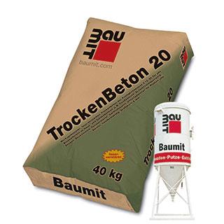 Produktbild Baumit TrockenBeton 20