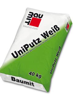 Artikelbild BAUMIT UniPutz Weiss  40kg