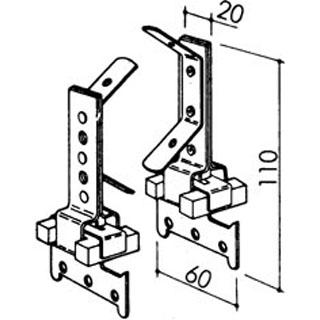 Schwingungshänger für CD-Profil 60/27