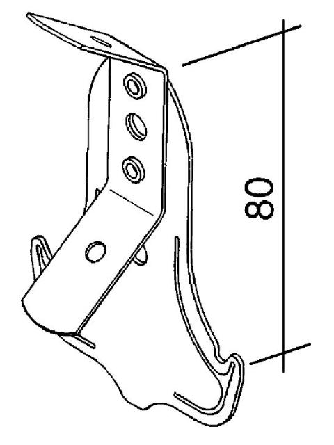 Anker-Schnellabhänger für CD-Profil 60/27