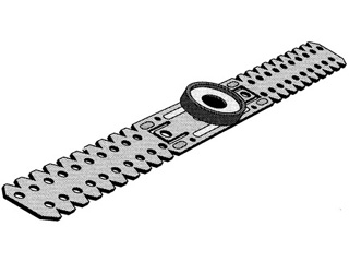Direkt-Schwingungsabhänger für CD 60/27 flach