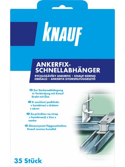 Anker-Fix-Schnellabhänger für CD-Profil
