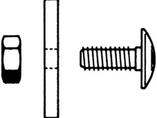 Schlossschraube M 8 x 20