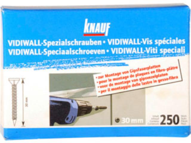 Vidiwall-Spezialschrauben (SB - Verpackung)