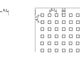 Kassette Plaza Unity 3, 625 x 625 mm