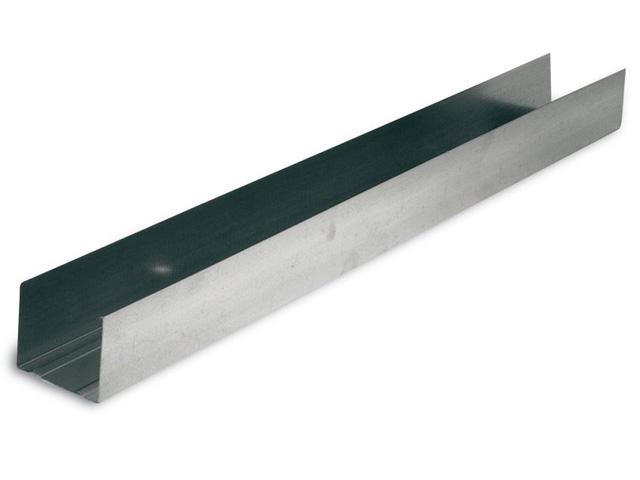 UW-Profil 125 x 40 x 0,6 mm