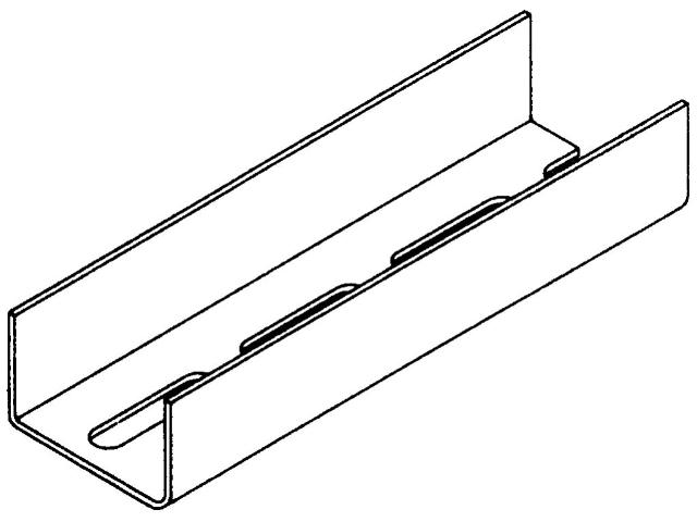 UA-Profil 50 x 40 x 2,0 mm
