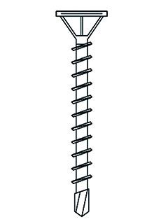 AQUAPANEL® Maxi Schraube 39 mm mit Bohrspitze