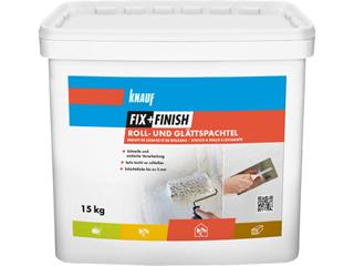 Fix + Finish Roll- und Glättspachtel