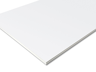 ungelochtes Randfries für Cleaneo® Akustik linear