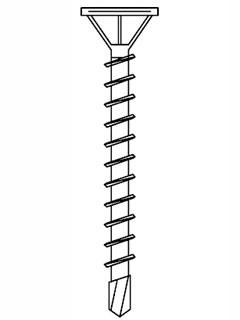 QUAPANEL® Maxi Schraube, 39 mm mit Bohrspitze