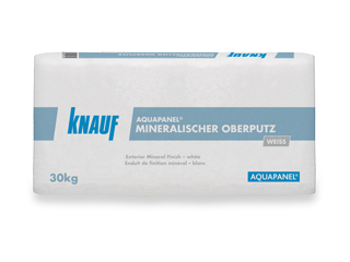 AQUAPANEL® Mineralischer Oberputz weiß