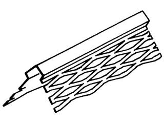Eckschutzleiste verzinkt 34/34 mm