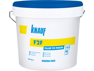 F2F - Fertigfeinspachtel weiß