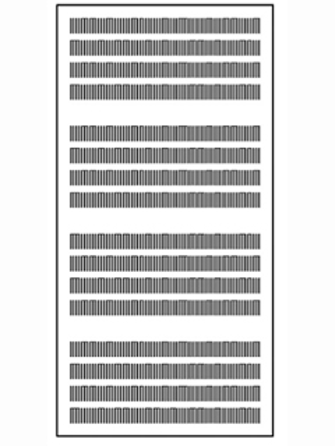 Slotline Blockschlitzung Type B6