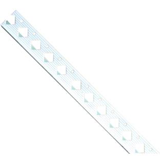PVC-Einfassprofil 15,0 mm, weiß