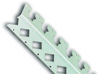 PVC-Rundbogenprofil, weiß