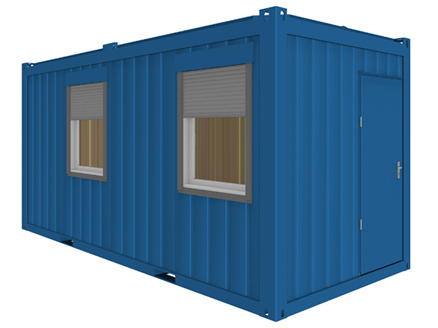 Bürocontainer 16'