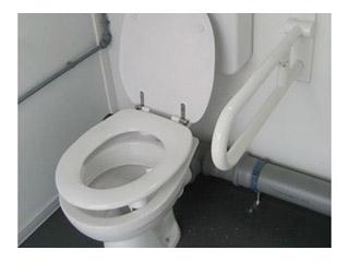 Zusatzausstattung WC-Container