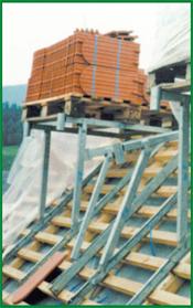 Dachziegelbock, verstellbar 20-60°