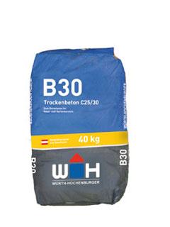 WH-Trockenbeton B-30