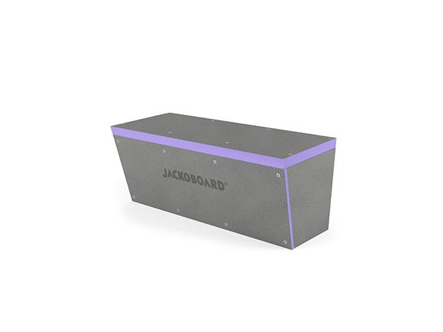 JACKOBOARD® S-Kit 1 Sitzbank eckig