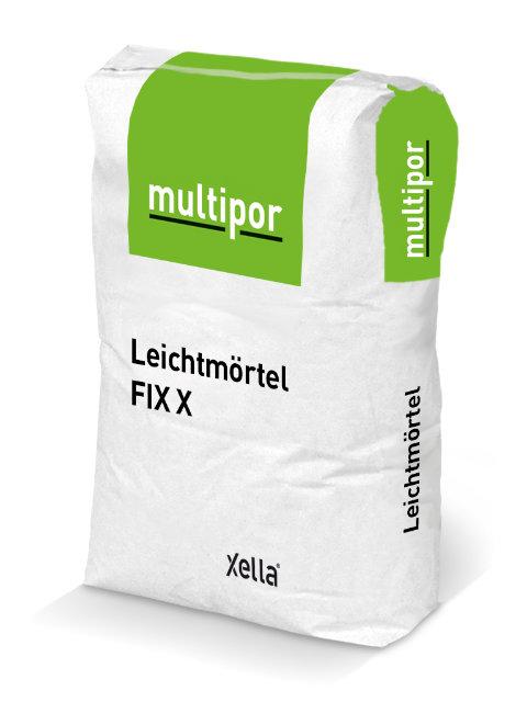 Leichtmörtel Multipor FIX X