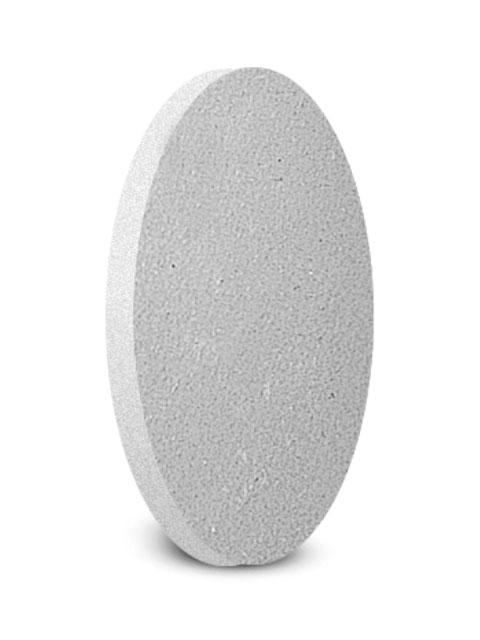 Keramik-Verschlussplatte rund
