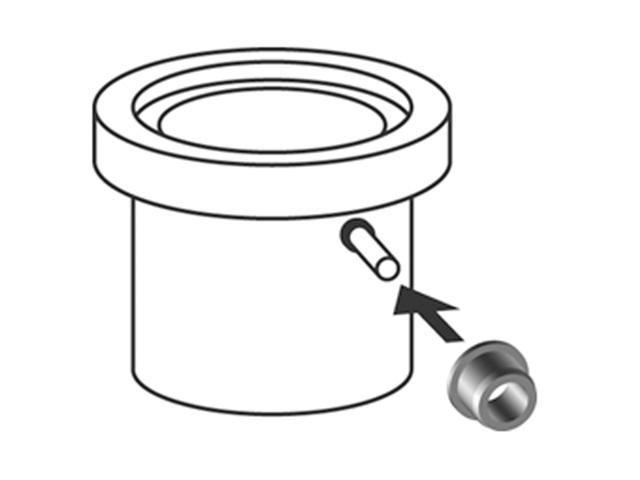 Adapter für HT-Rohranbindung DN 40