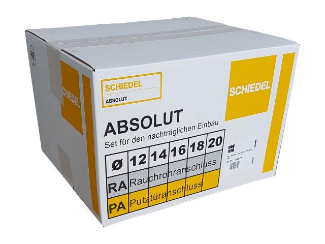 Rauchrohranschluss-Stutzen-Set 45°