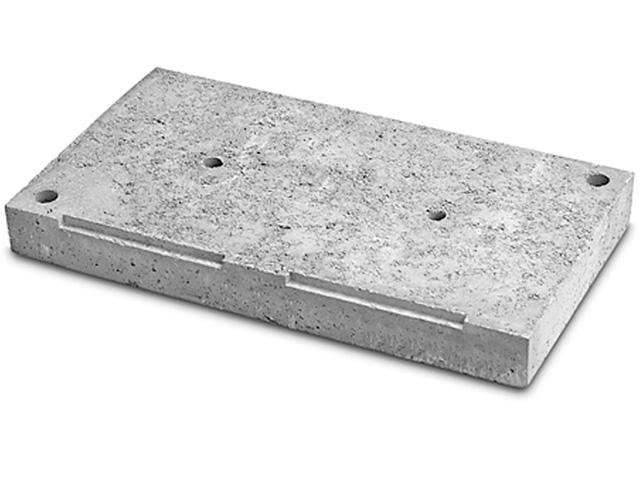 Sockelplatte Zweizügig/Kombiniert mit Lüftung