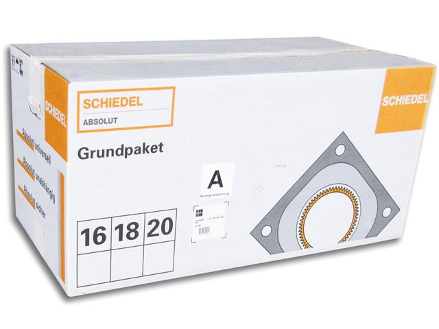 Grundpaket Schiedel ABSOLUT für niedrige Ausführung