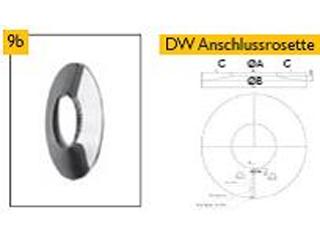 DW Anschlussrosette breit (T20)