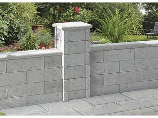 Bradstone Argento Mauer- und Zaunsystem