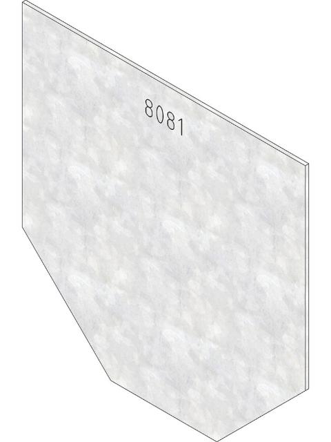 FASERFIX® KS 100, Stirnwand