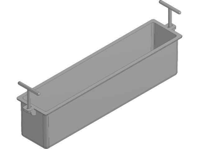FASERFIX® KS 100, Kunststoff-Eimer für Einlaufkasten 500 mm