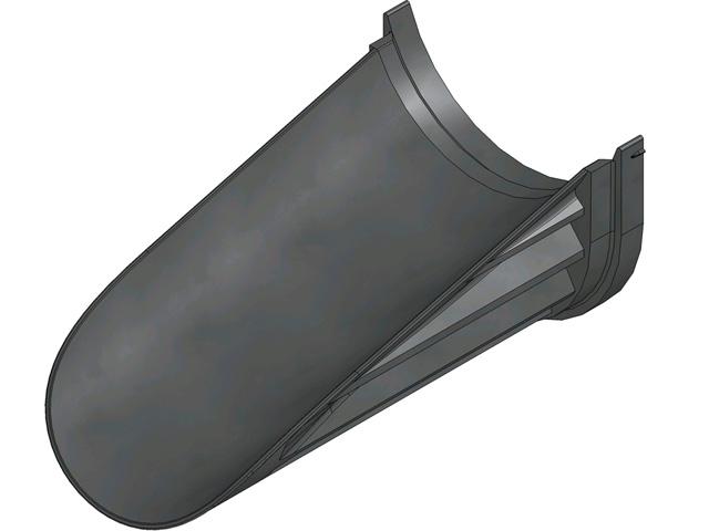 RECYFIX® STANDARD 100, Sohlenadapter für Stufengefälle