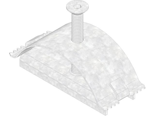 FASERFIX® STANDARD E 100, Klemmrost-Verschraubung
