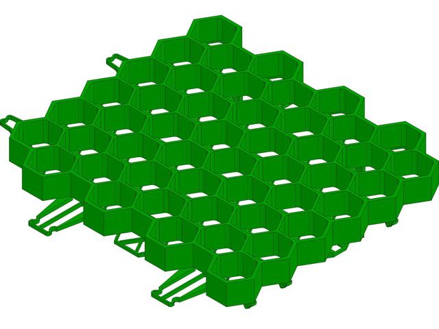 RECYFIX® GREEN STANDARD, Rasengitter