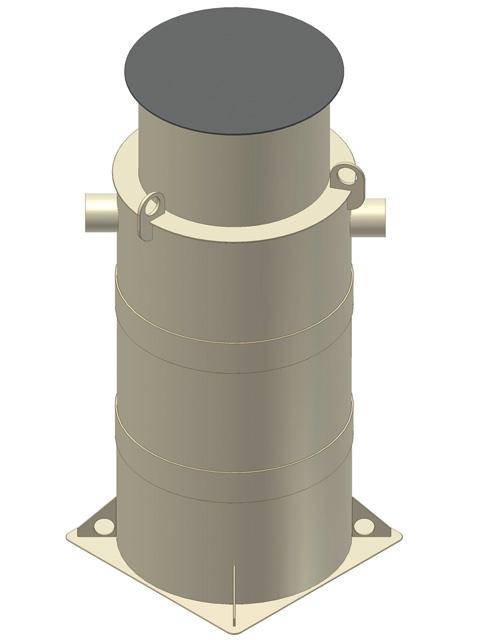DRAINFIX® Sedimentations- und Filterschächte