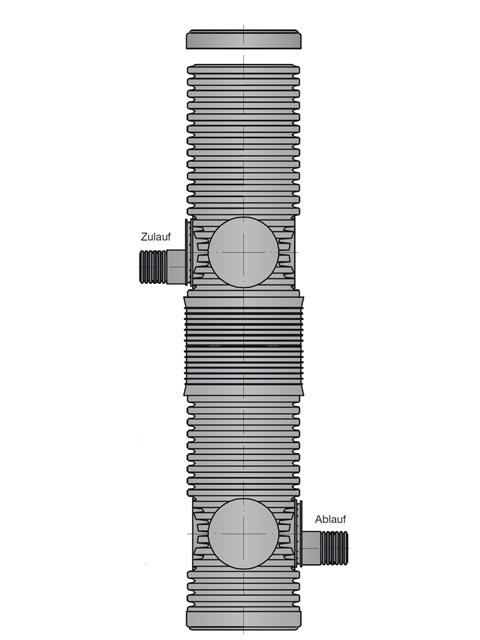 DRAINFIX® Systemschächte 300/1800** mm mit Feinfiltereinheit