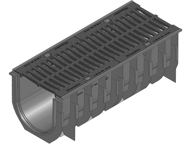 RECYFIX® STANDARD 300, Kombiartikel, Klasse C 250, mit Gussrost