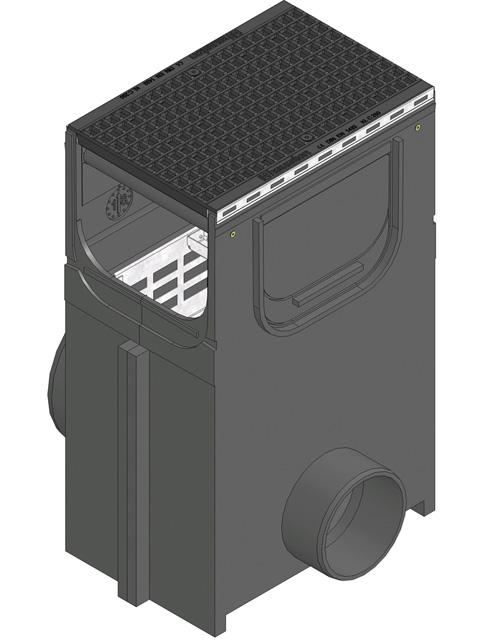 RECYFIX® PLUS 300, Einlaufkasten