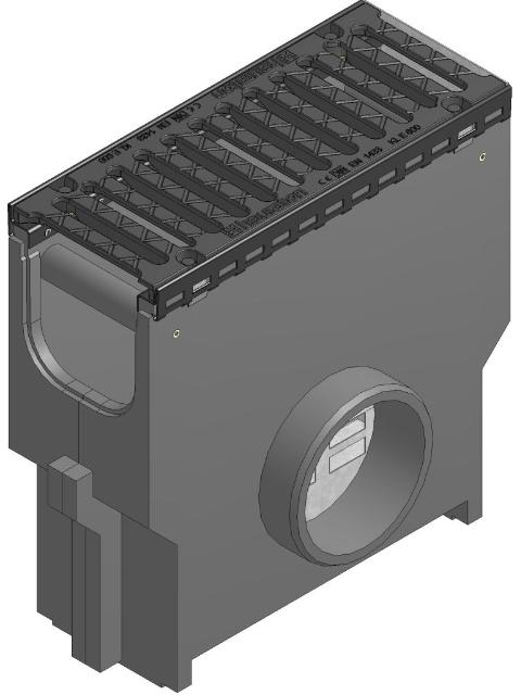 RECYFIX®NC 150, Einlaufkasten