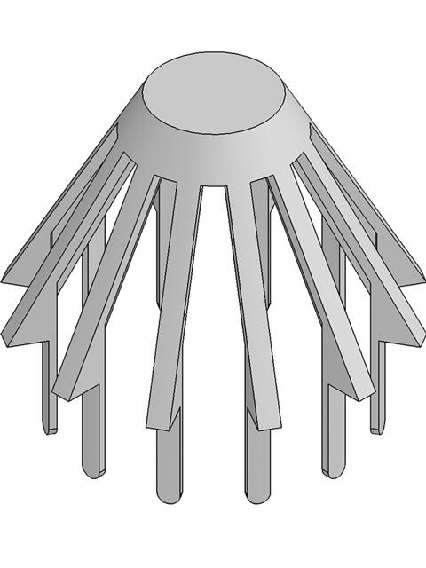 DACHFIX®STEEL 115, Laubfangkorb