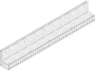 Bauhöhe 150 mm, Halshöhe 100 mm, Klasse A 15